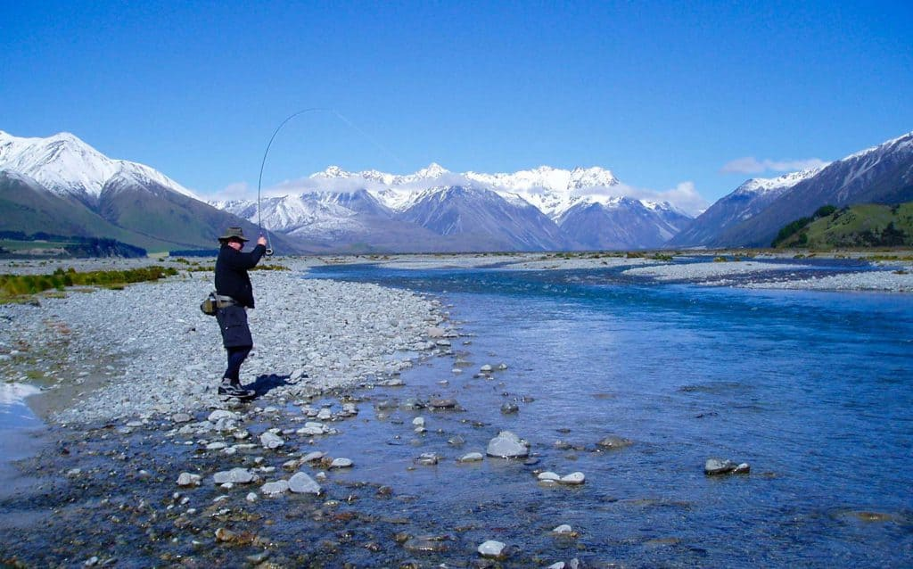 New zealand trout fisheries river fishing canterbury for New zealand fly fishing