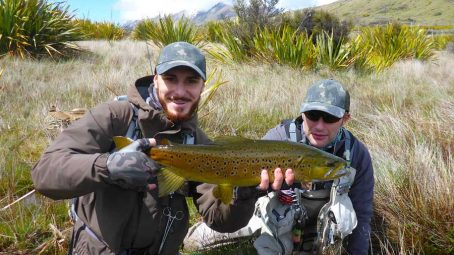 some super exciting lake fishing for Riccardo and Riccardo