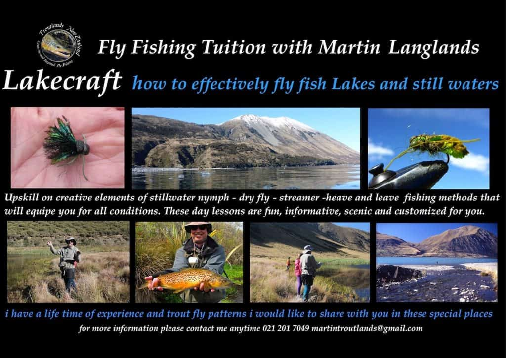 Come on a fly fishing adventure with Martin at Troutlands.