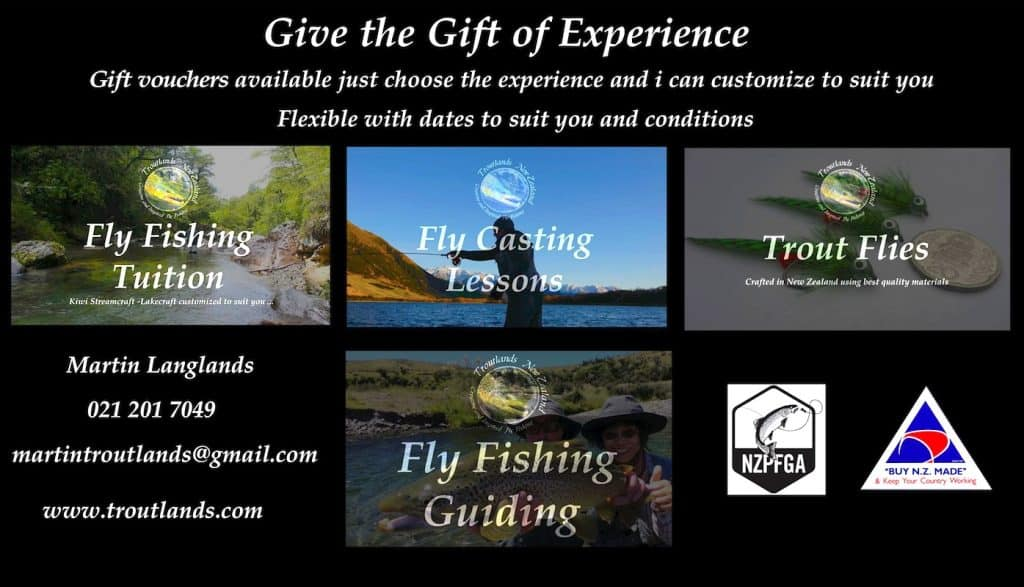 Give the gift of a fly fishing adventure with Martin Langlands