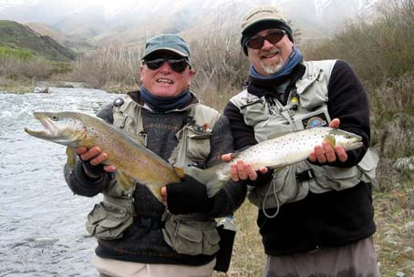 Trout caught with help of Martin